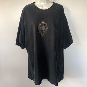 Vintage Harley Davidson T Shirt XXL Iowa Hawkeye